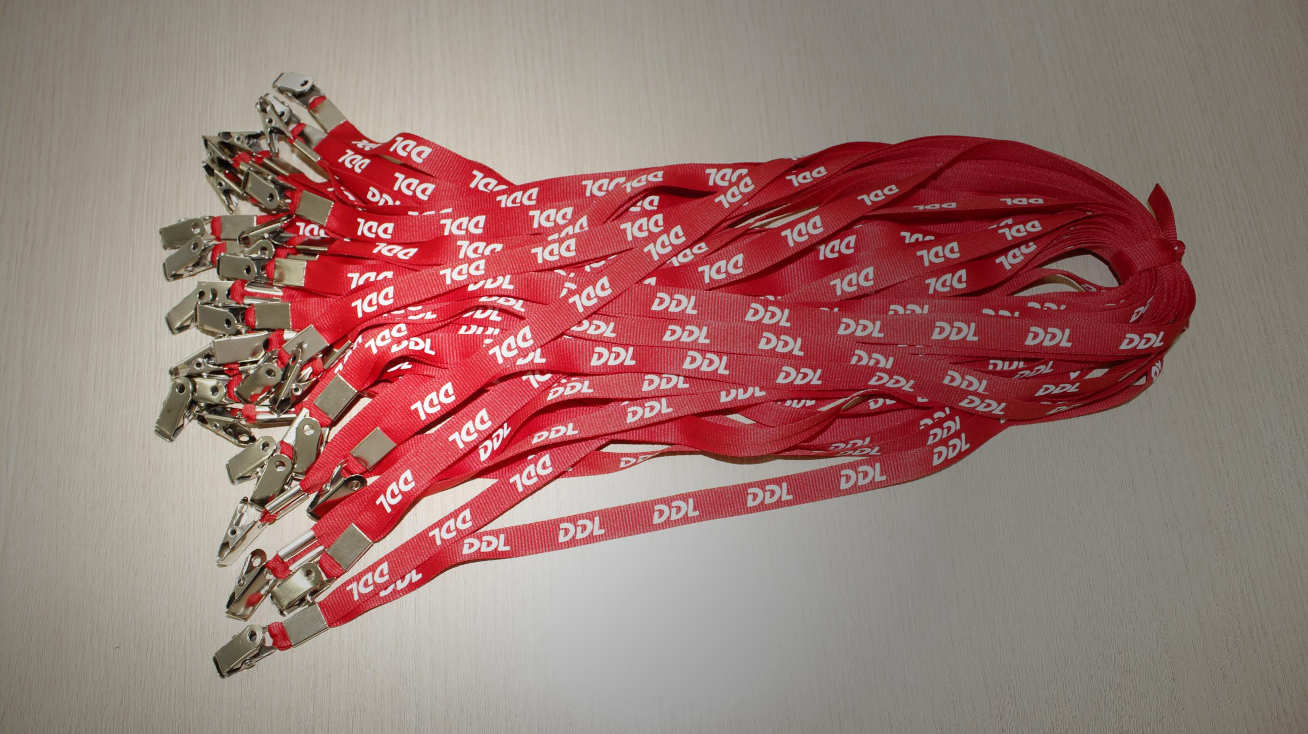 Cordões Personalizados de Crachas DDL